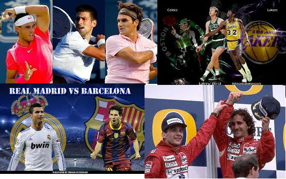 Ha habido muchas más rivalidades. Cada deportista ha hecho mejor a su oponente por el hecho de ser su máximo rival.