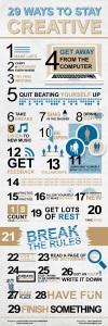 29 acciones que te ayudarán a ser creativo