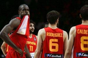 España tras caer eliminada ante Francia. FOTO Juanjo Martín EFE