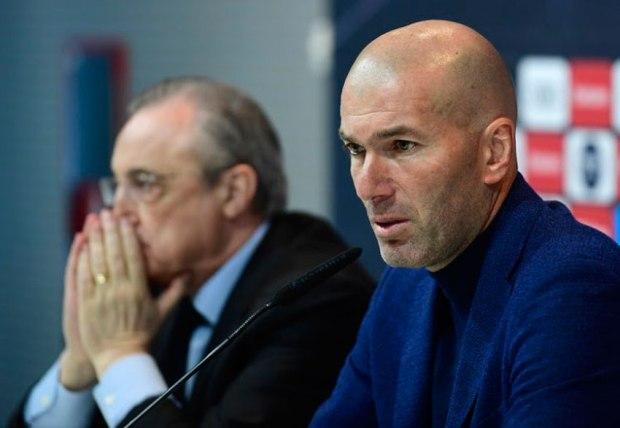 Zidane dimite